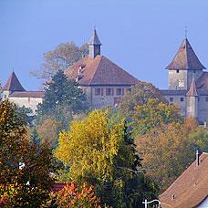Sehenswertes im Zürcher Oberland, die Kyburg.
