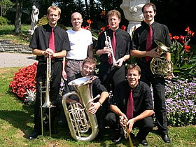 """Blechbläserquintett """"Lucerne Chamber Brass"""" in der Kirche ..."""