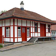 Die Gemeinde Egg liegt im Bezirk Uster.