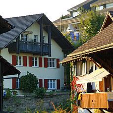 Blick auf die Gemeinde Greifensee.