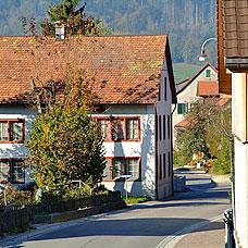 Blick auf die Gemeinde Hittnau.