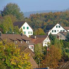 Die Stadt Illnau-Effretikon hat seinen ländlichen Charakter beibehalten.
