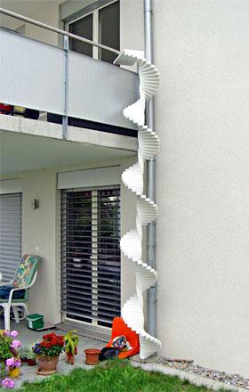 katzenleiter wendeltreppe gel nder f r au en. Black Bedroom Furniture Sets. Home Design Ideas