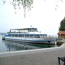 Die Gemeinde Maur liegt direkt an den Ufern des Greifensees.