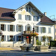 Der Gasthof zur Krone in Pfäffikon.