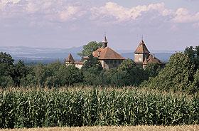 Zeitzeuge aus dem Mittelalter, das Museum Schloss Kyburg.