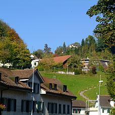 Die Gemeinde Wald hat herrliche Wohnlagen.