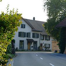 Blick auf die Gemeinde Weisslingen.