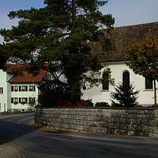 Das Dorfzentrum von Wildberg.